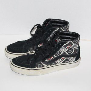 Vans  Nintendo Controller Shoes Women 9.5 /Men 8